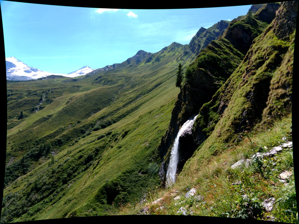 The weitentalbach waterfall
