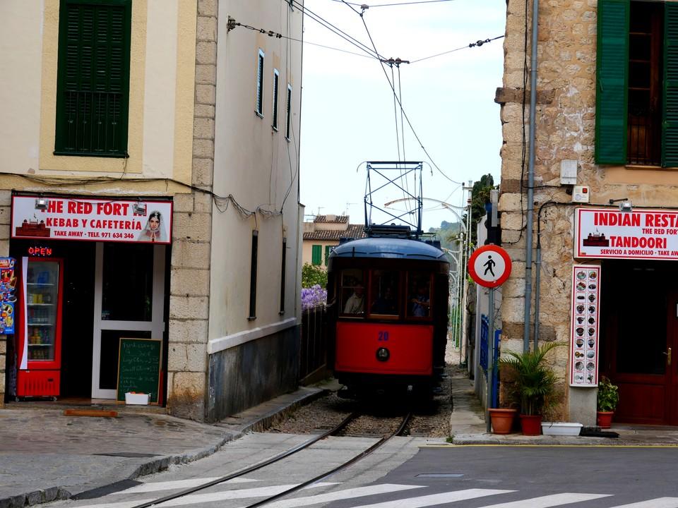 Past the tram