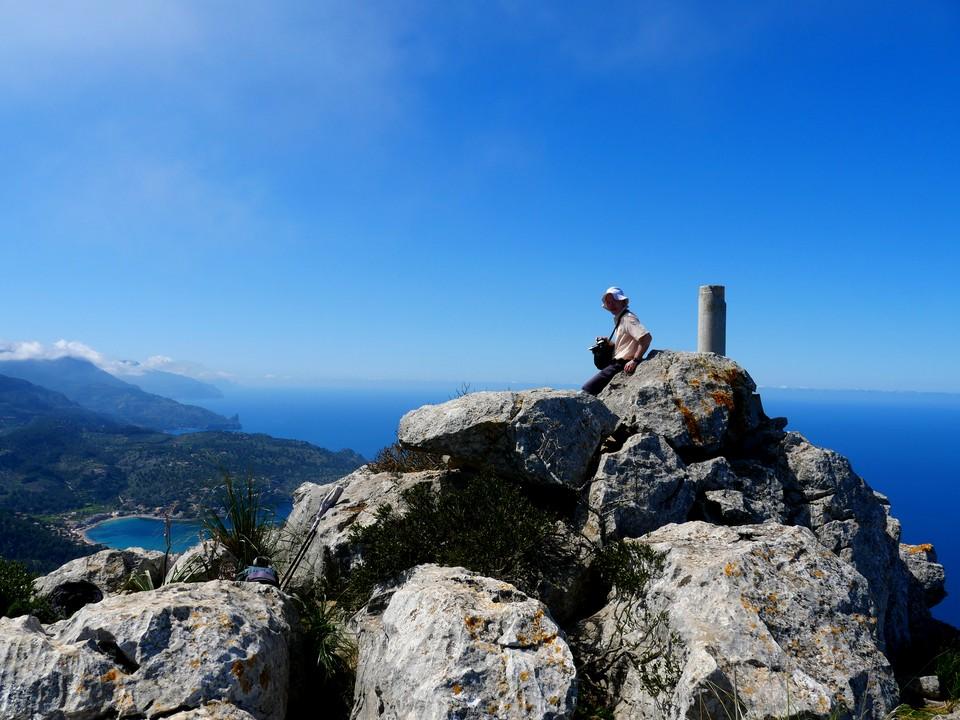 the top of puig de Balix