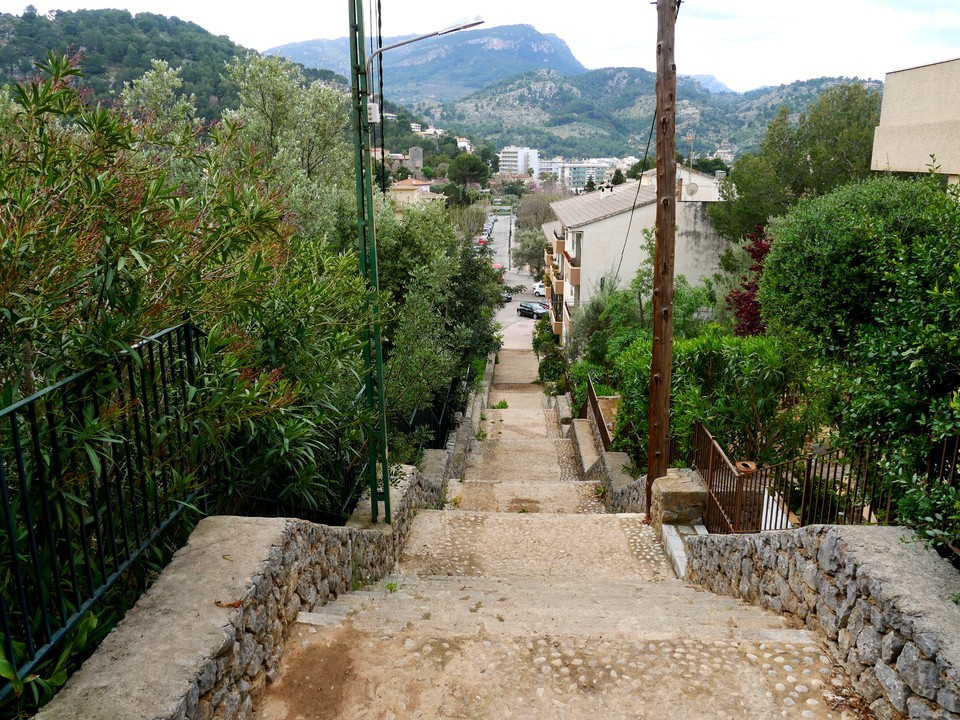 Heading back into Soller