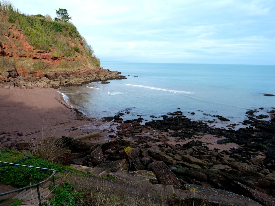 Maidencombe beach, worth a visit even in winter