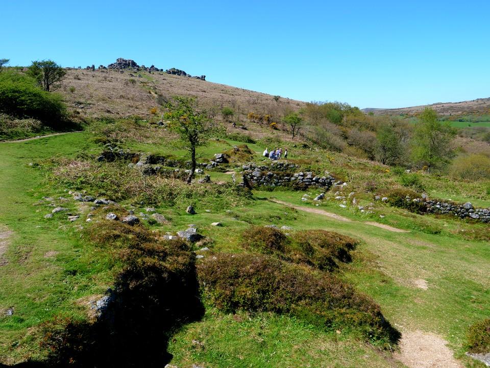 Hound Tor medieval village