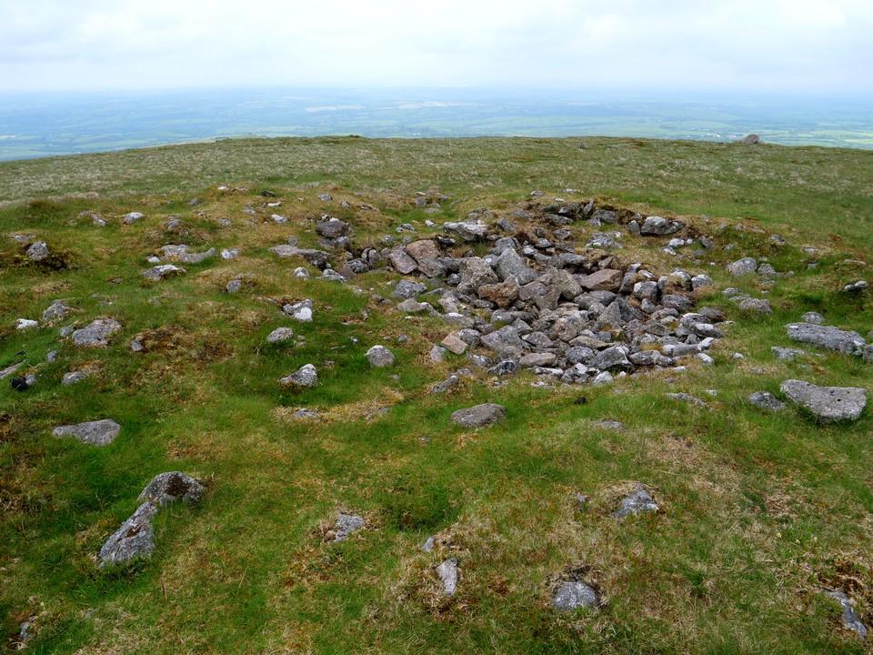 Tumulus mound on Corn Ridge