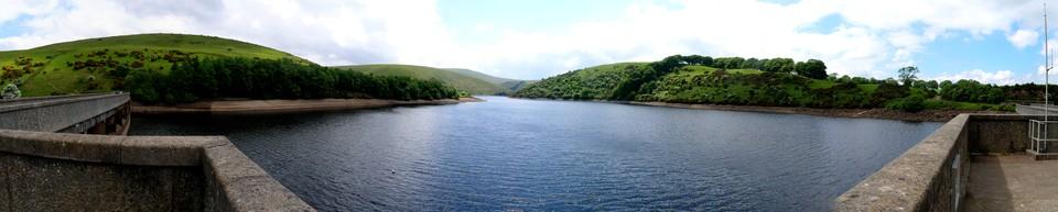 Dartmoor Panorama: Meldon Reservoir