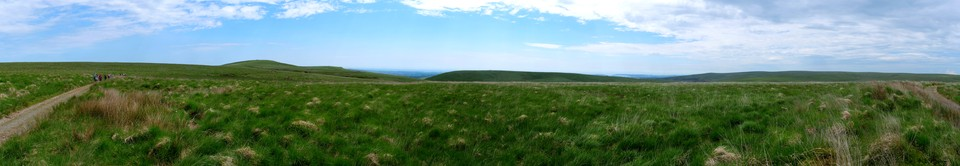 Dartmoor Panorama: View from the Tramway