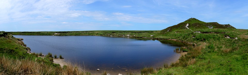 Dartmoor Panorama: Red Lake and Tip