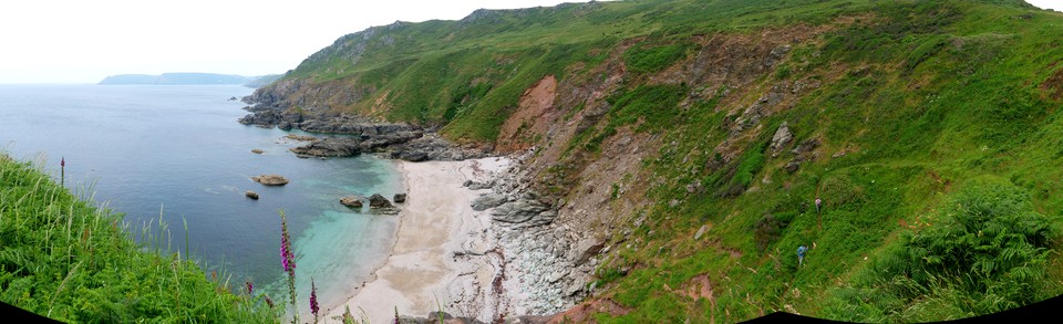 Panorama: Venerick's Cove from the Pig's Nose