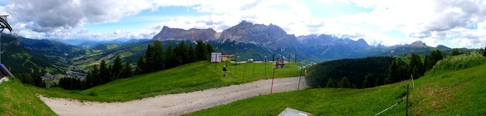 The view from Piz la Ila
