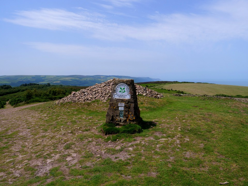 Selworthy Beacon. We went as far as Dean's Lane before dropping down Selworthy Combe into Selworthy.
