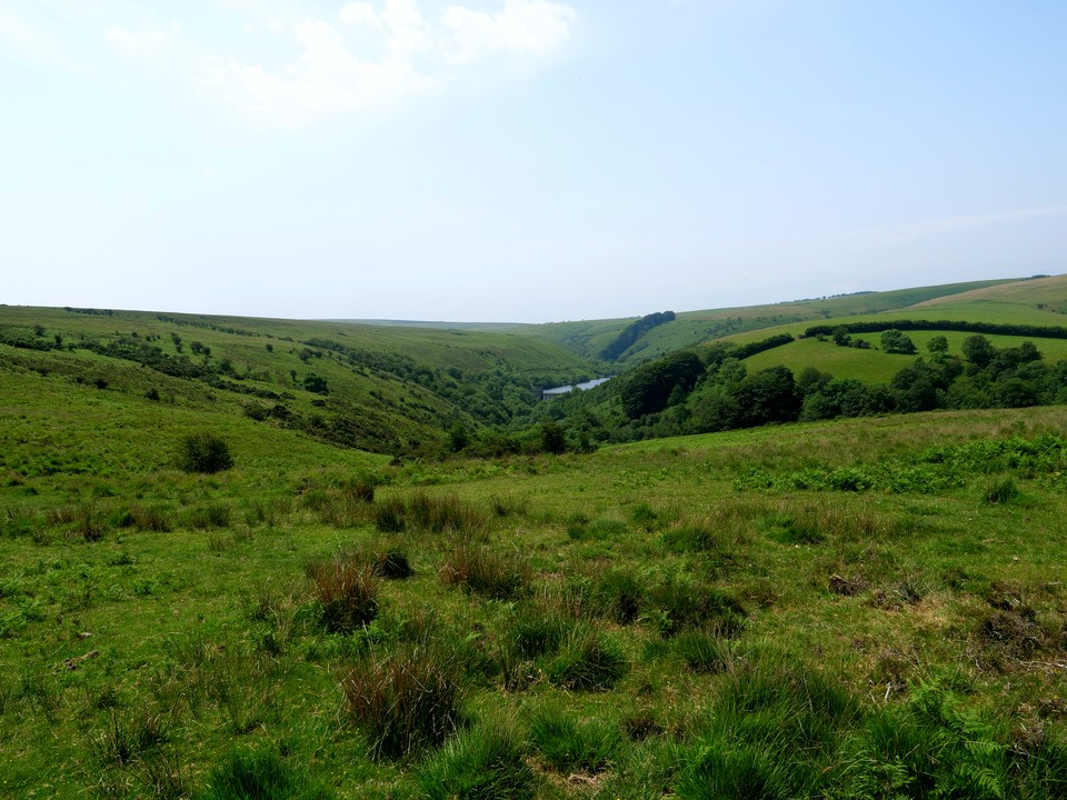 Then on to Tarr Ball Hill, with views of Nutscale Reservoir