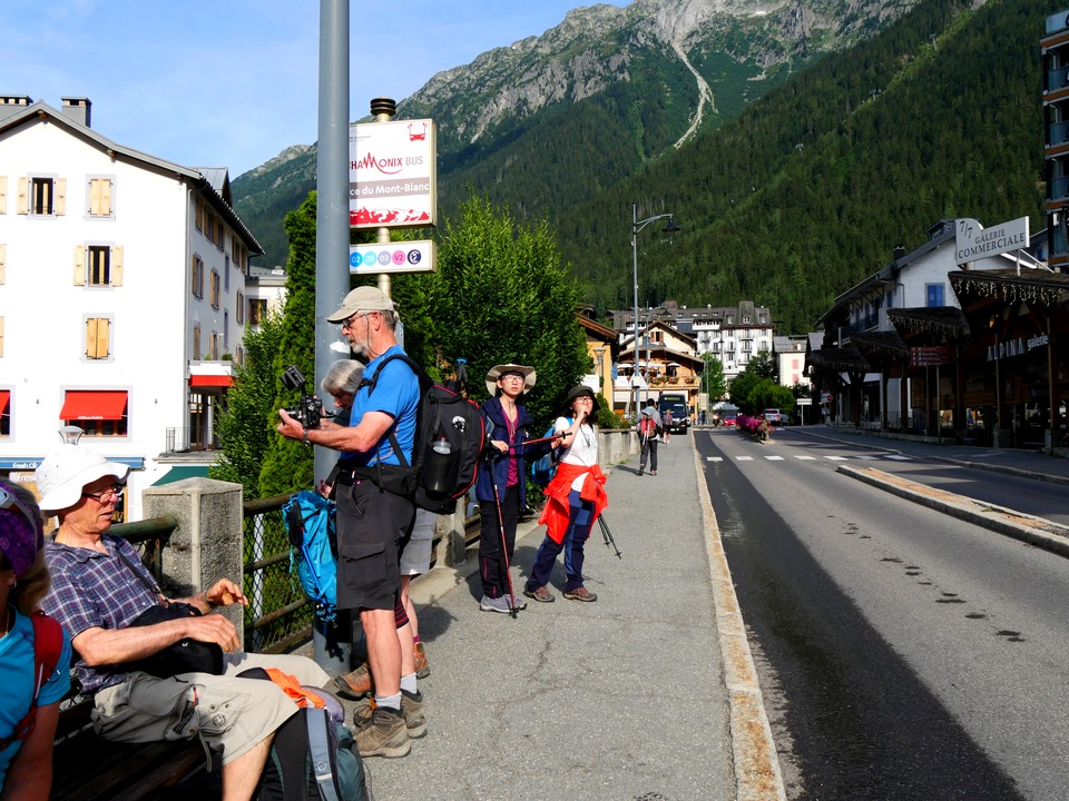 Got bus no 2 from Chamonix up to Le Tour,