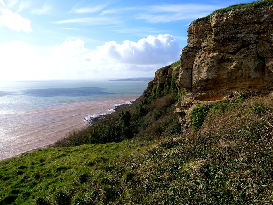 The view at Dunscombe Cliff