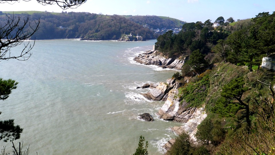 View of Castle Point and the entrance to Dartmouth Harbour