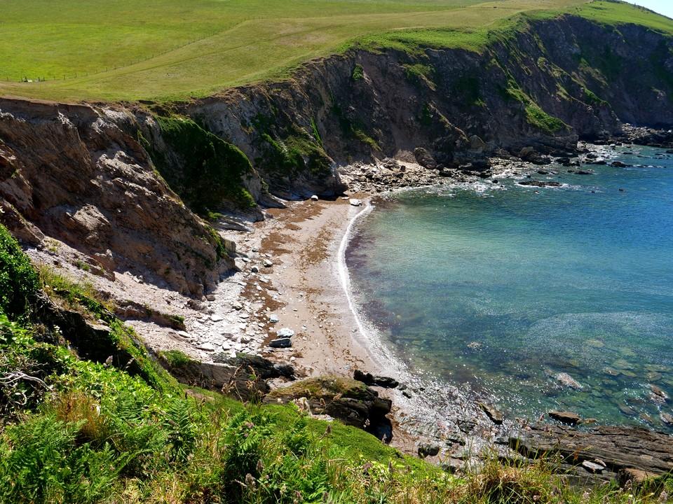 Fernycombe Beach, looking East
