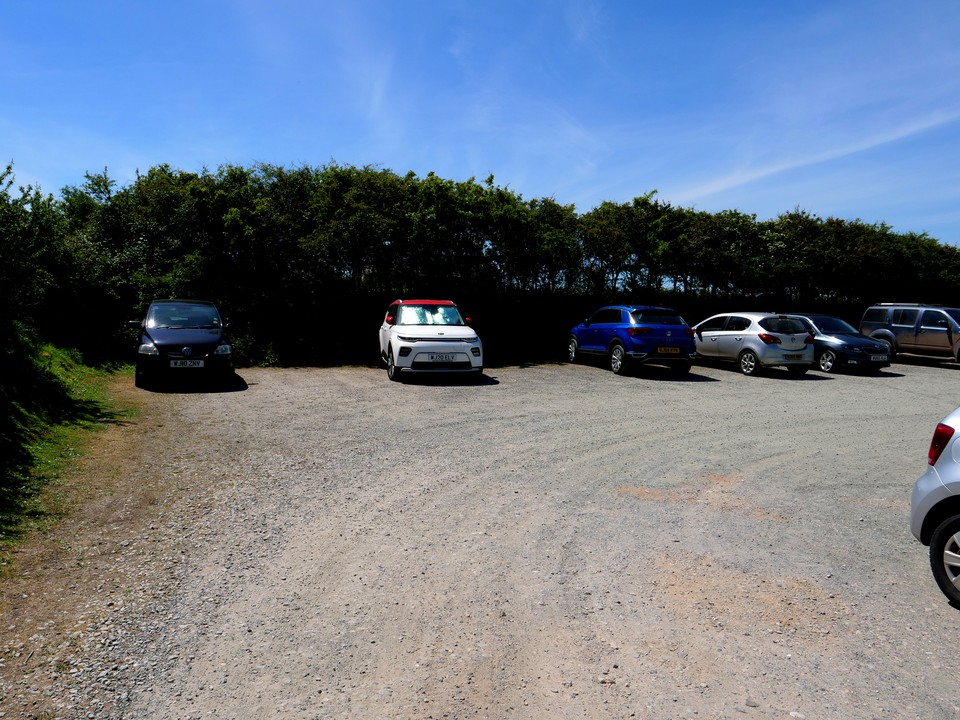 And back to the car park for Armer Cove at Ringmore.