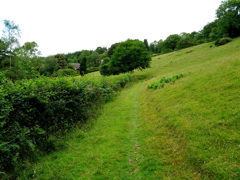 Appoaching Higher Combe