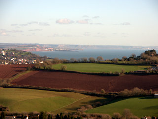 2013-02-02-11-17-02_p1090933_lanes-around-stokeinteignhead.jpg  Clear views along the South east Devon coastline taken from Rocombe Ridge.