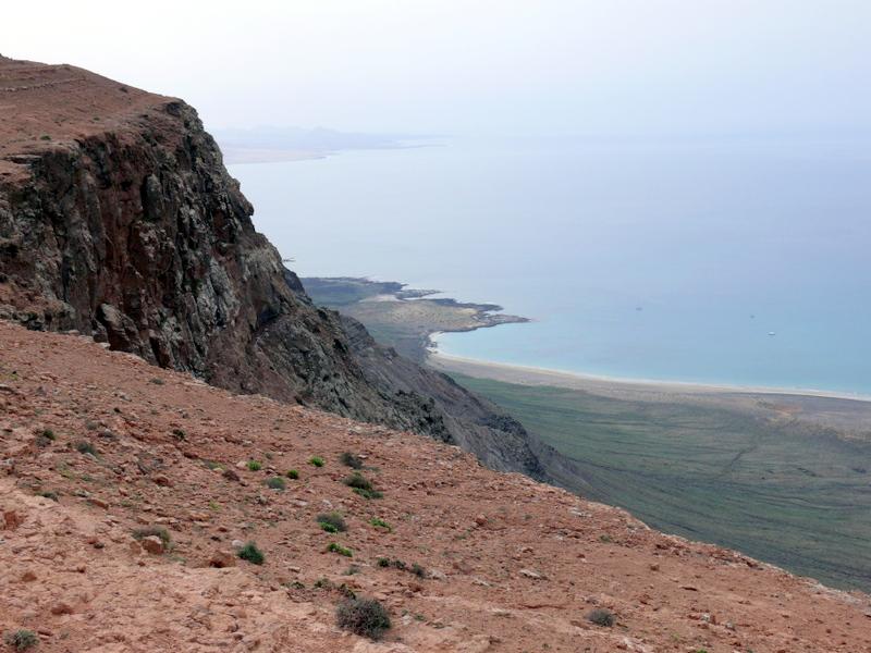 Lanzarote Mirador del Rio cliff walk Lanzarote Mirador del Rio cliff walk