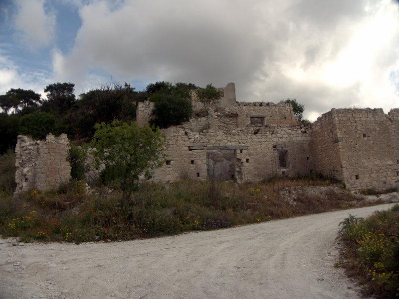 Kato Archimandrita ruined village, walking Cyprus  Alekhtora Khapotami Gorge Kato Arkhimandrita 2010-04-30