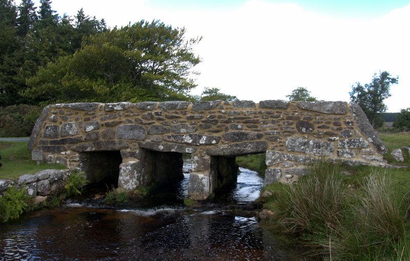Riddon Bridge.  postbridge belliver bridge Dartmoor 2010-07-21