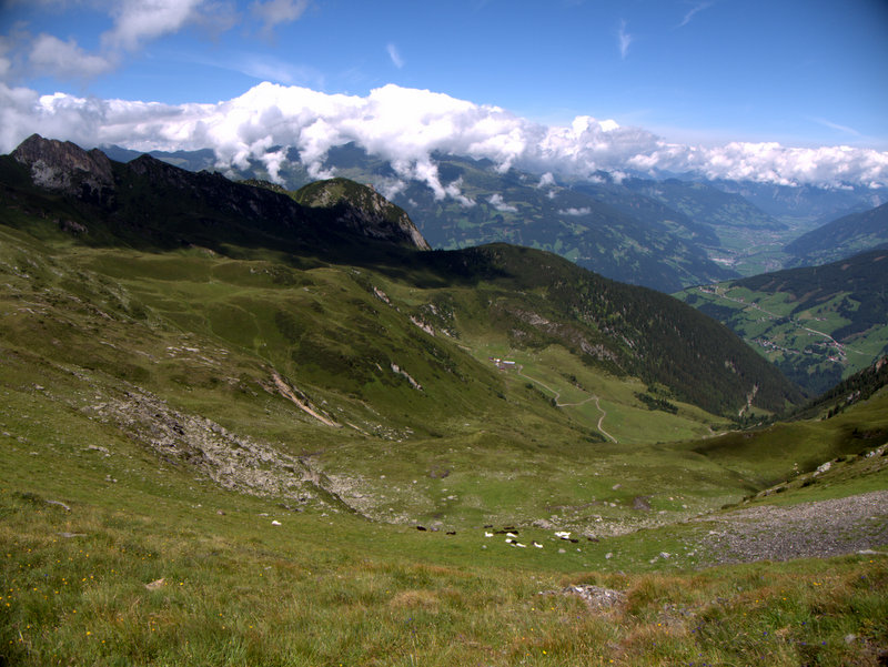 Hainzenberg Brandberger Kar Schwarzach Kuhle Rast 2010-08-04 Hainzenberg Brandberger Kar Schwarzach Kuhle Rast 2010-08-04