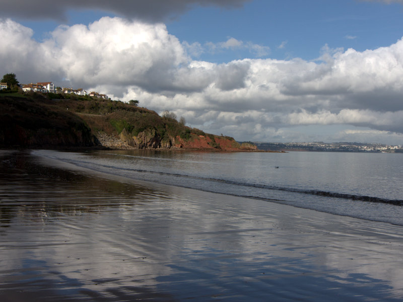 Broad Sands sands  Walk along the beach if the tide is out