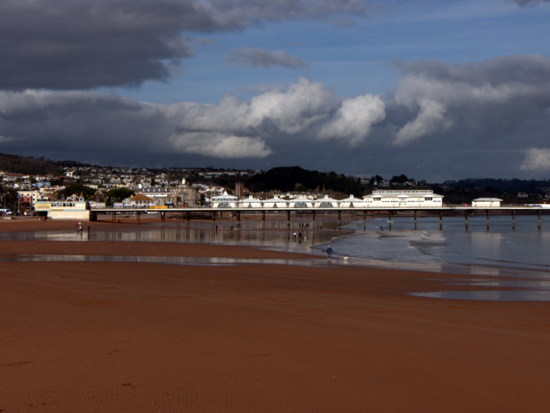 Paignton Promenade Pier  Paignton Promenade Pier and the wide firm sands
