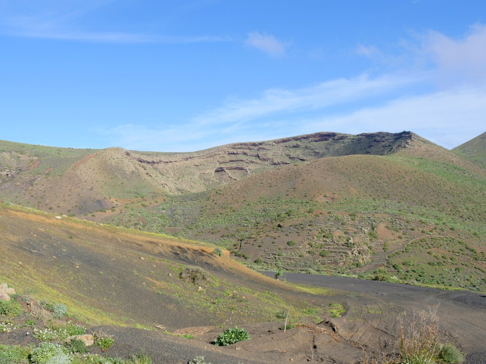 One of the caldera